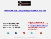 global plant asset management system market Global plant asset management system market survey provides key information about the industry, including very helpful and important facts and figures, expert opinions, and the latest developments across the globe it provides detailed understanding of consumption by individual product categories to align your sales and marketing efforts with the latest trends in the market.