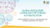 Global Regulatory Landscape for Strong Authentication