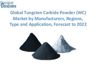 Global Tungsten Carbide Powder (WC) Market Analysis Report 2017 - 2022