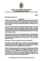 Guidonia Montecelio - Manutenzione Lotti Incolti