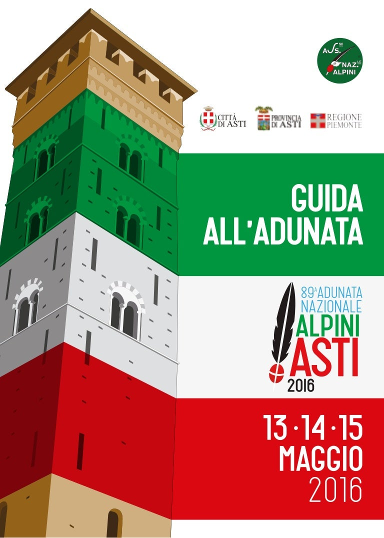 Guida all adunata alpini 2016 ad asti 95d755b61bb4