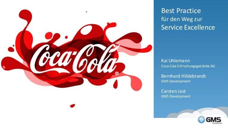 GMS Development - Coca-Cola Erfrischungsgetränke AG: Best Practice fu…