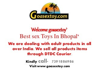 Best Sex Toys In Bhopal