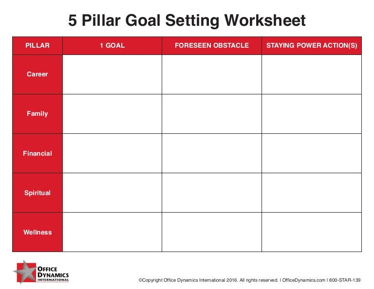 Worksheets Financial Goal Setting Worksheet goal setting materials