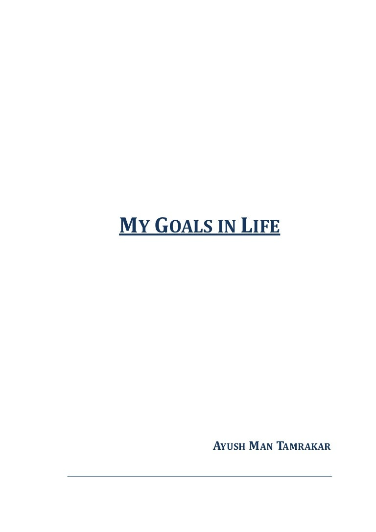 my goals in life bba orientation assignment