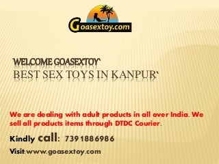 Male & Female Sex Toys in Kanpur - Online sex toys store in Kanpur