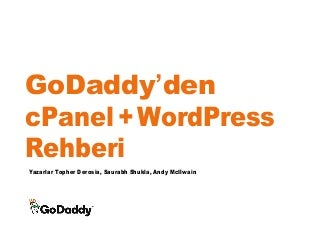 GoDaddy'den cPanel ve WordPress Rehberi