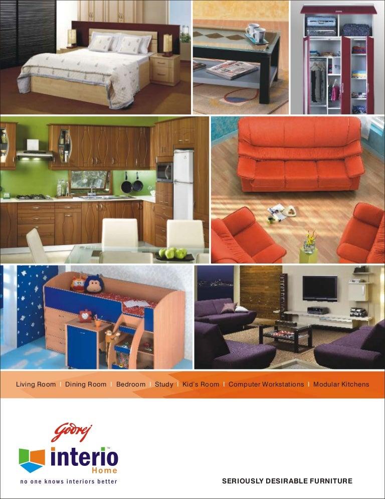Godrej interio home catalogue