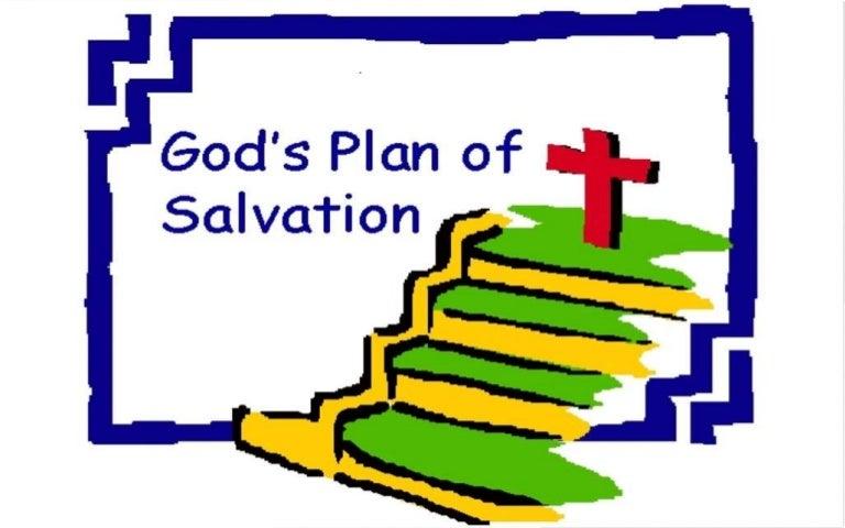 God's plan of salvation!
