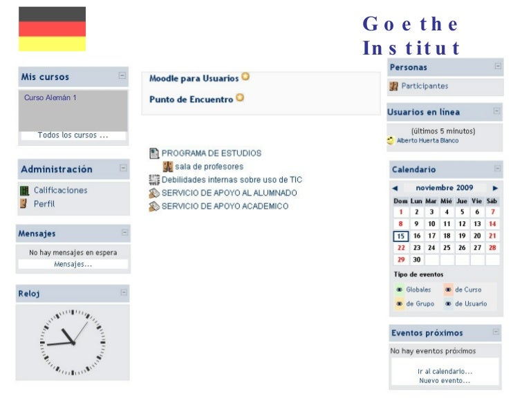 Goethe Uni Moodle