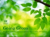 Going Green at CII  15 Steps