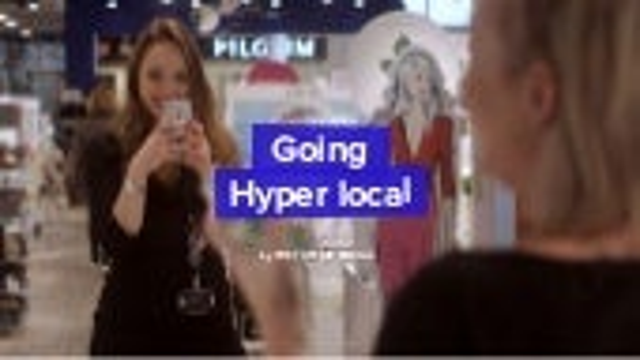 Going Hyper Local
