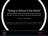 Going to School in the World: On the Future of Public-Private Partnerships