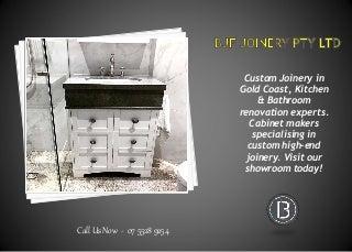 Gold Coast Bathroom Renovations & Designer
