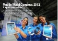 Mobile World Congress 2013: A report from the floor