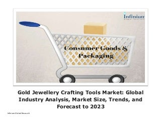 Gold jewellery crafting tools market global industry analysis, market size, trends, and forecast to 2023