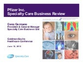 Specialty Care Business Review