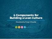 WEBINAR: 4 Components for Building a Lean Culture