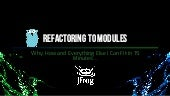 Refactoring to Go modules: why and how