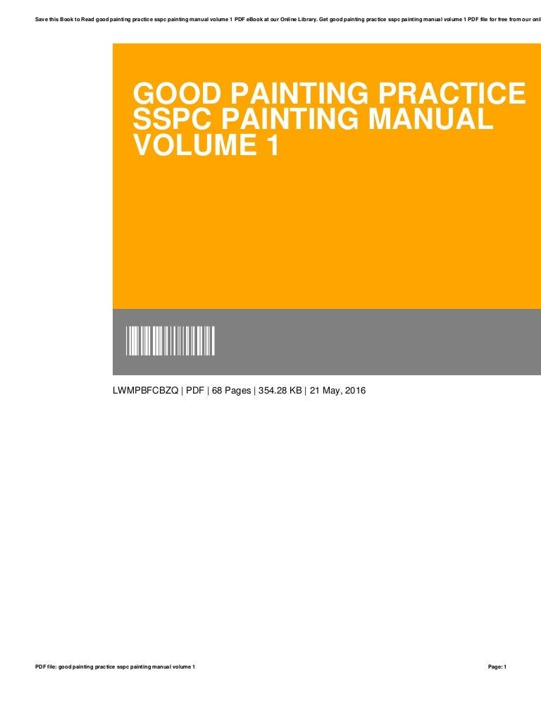 photo regarding Cdl Hazmat Practice Test Printable named Fantastic portray-prepare-sspc-portray-guidebook-amount of money-1