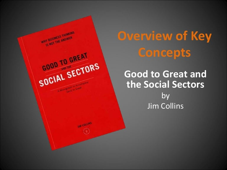 Good To Great And The Social Sectors PDF Free Download