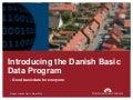 EDF2014: Nicolas Lemcke Horst, Ambassador of the Danish Basic Data Programme, Agency for Digitisation, Ministry of Finance of Denmark: Danish Basic Data