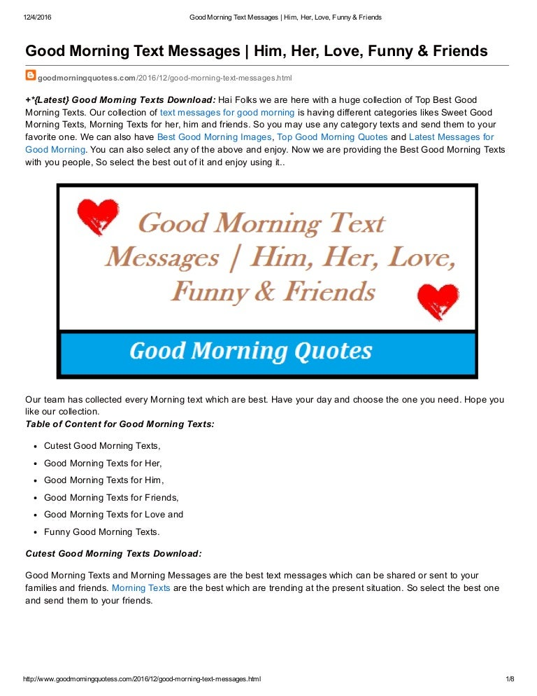 Best love text messages for her