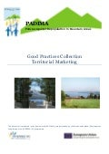 Collection of Good Practices in Territorial Marketing, PADIMA European Project.