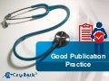 Good Publication Practice Guidelines