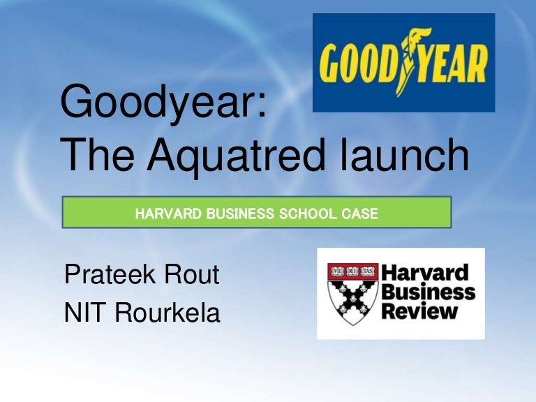 goodyear aquatred case study analysis
