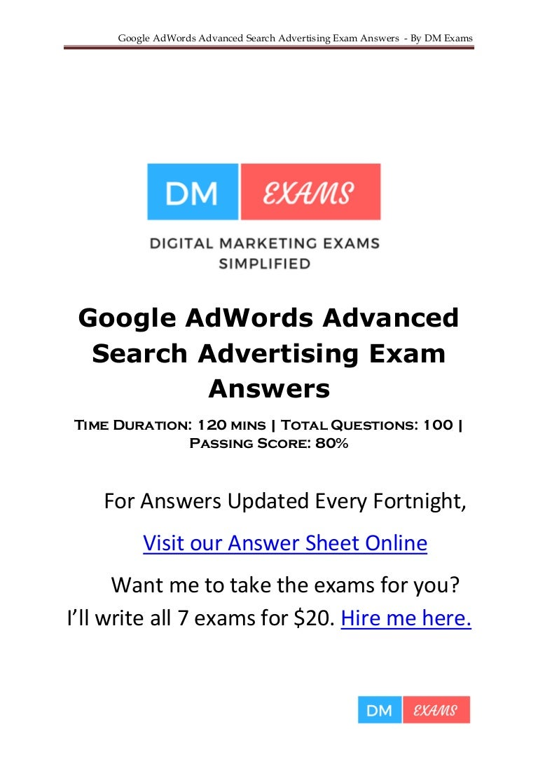 Google adwords advanced search advertising exam answers 170421093513 thumbnail 4gcb1512626382 fandeluxe Gallery