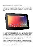 Google Nexus 10 – Powerful 10″ Tablet