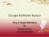 Google adwords by king of digital marketing