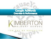 Google AdWords Advertising Campaigns - Waldorf Private School