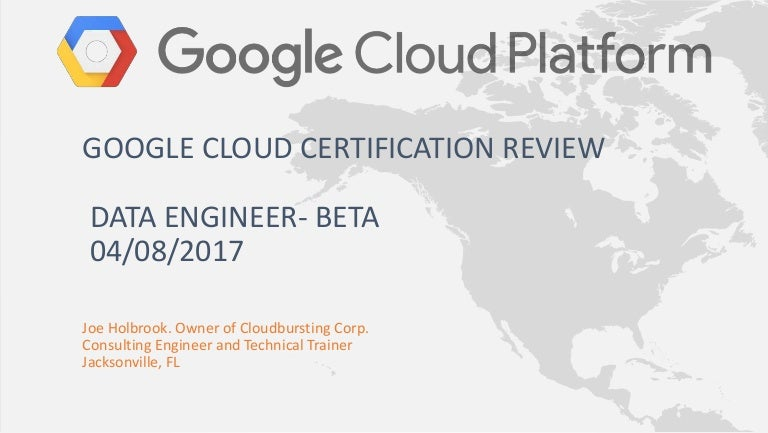 Google Cloud Certification Data Engineer