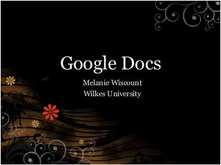 Case Study    MediaWiki and Google Docs   Do networking     Case study Sovannasuos work at Google