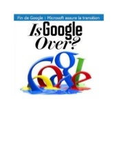 Google is over