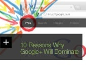 10 Reasons Why Google+ Will Dominate