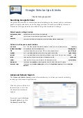 Google scholar tips