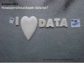 How open should open data be?