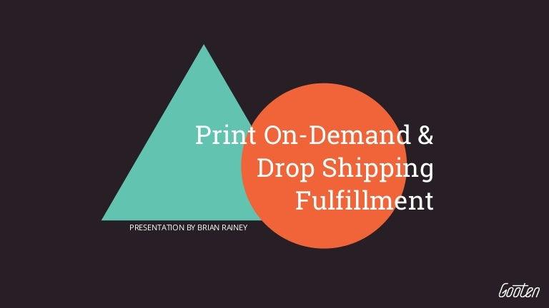 Gooten - Print On-Demand & Dropshipping Fulfillment