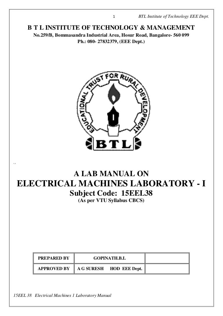 Practical Circuit Working Of Applications Experiment Lab Manual Design