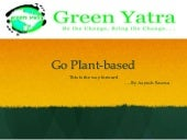 Go Plant Based by Green Yatra