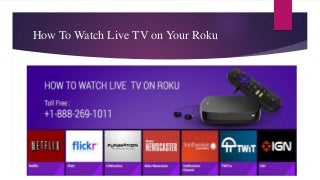 How To watch Live TV on your Roku