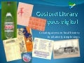 Gosford library local history by Geoff Potter