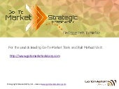 Developing a Go-To Market Strategy