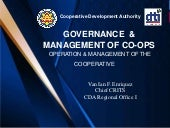 Governance & Management-of-coops Part II