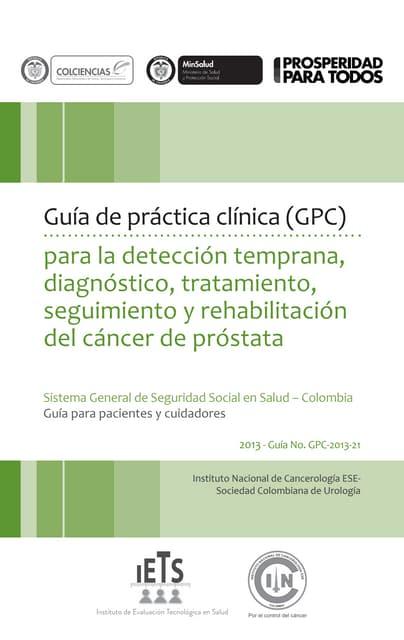 patologia de prostata gpc