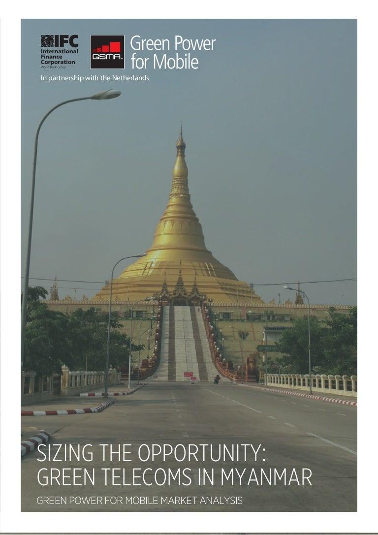 Myanmar Market Analysis 07/2014 - Mobile