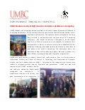 UMBC IS Dept. Grace Hopper 2012 news item
